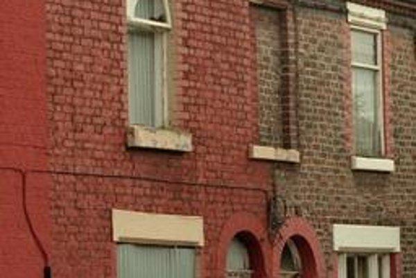 Rodný dom Ringa Starra v liverpoole.