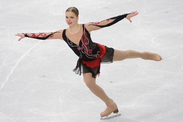 Nicole Rajičová reprezentovala Slovensko aj na olympijských hrách v Soči.