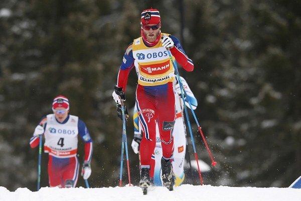 Martin Johnsrud Sundby bol v sobotu najrýchlejší.