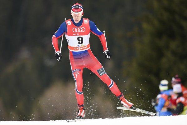 Preteky mužov vyhral Anders Gloeersen.