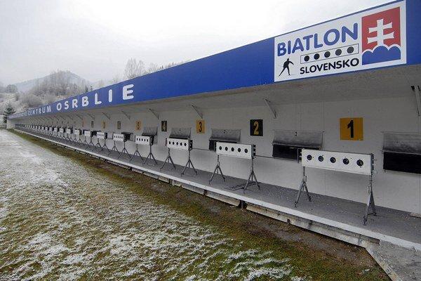 Biatlonový areál v Osrblí je takmer pripravený, dolaďujú už iba detaily.