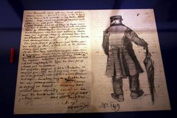 Tento list poslal Vincent van Gogh umelcovi Anthonovi van Rappardovi. Písali si v rokoch 1881 – 1885.