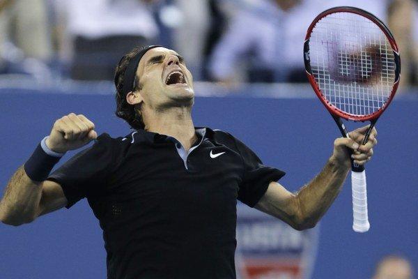 Roger Federer postúpil do semifinále US Open.