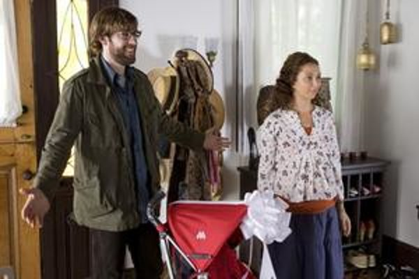 Keď pred sebou tlačíte kočík, akoby ste od seba odtláčali svoje dieťa, dozvedajú sa na návšteve Verona a Kurt.