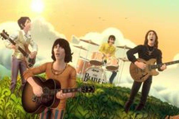 The Beatles vo virtuálnom svete.