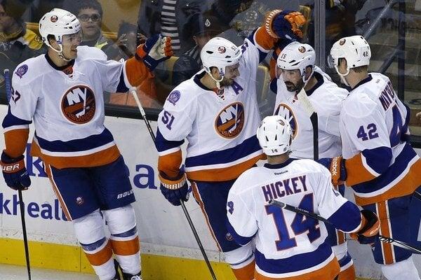 Hokejisti New Yorku Islanders