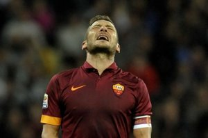 Francesco Totti hrá za AS Rím od roku 1992.