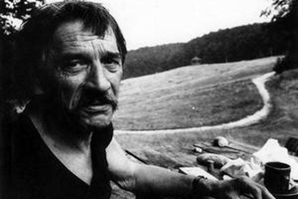 Dominik Tatarka v roku 1976.
