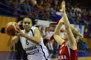 Američanka Kristi Toliverová pomohla Slovensku na majstrovstvá Európy 2015.