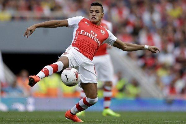 Nová posila Arsenalu Alexis Sánchez.