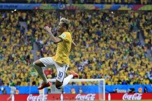 Neymar je najväčšou hviezdou brazílskej reprezentácie.