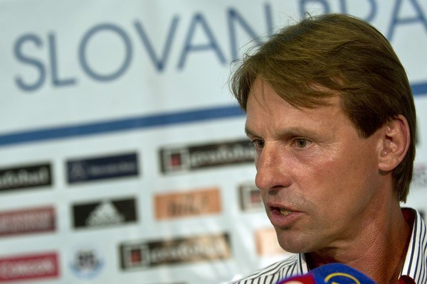 Nový tréner Slovana František Straka.