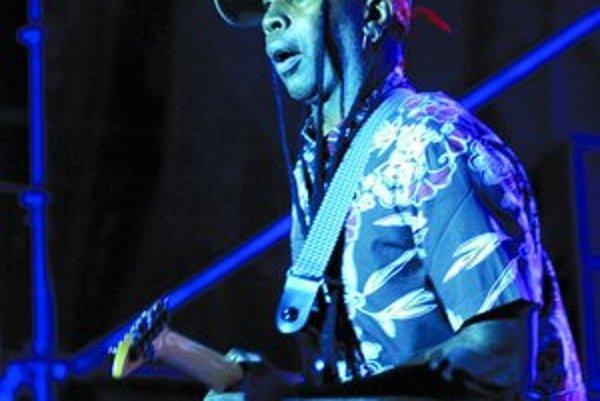 Gitarista skupiny Living Colour Vernon Reid.