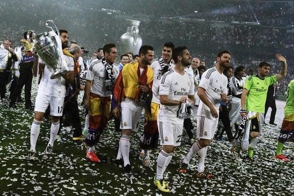 Futbalisti Realu Madrid vyhrali Ligu majstrov zaslúžene.