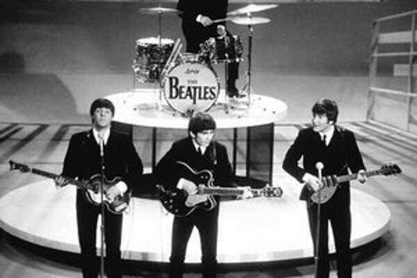 The Beatles v šou Eda Sullivana.