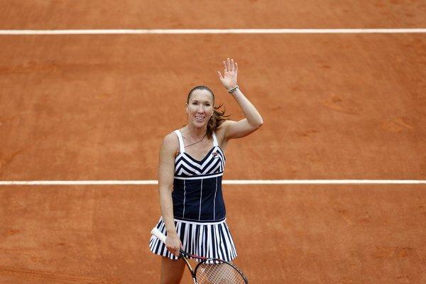 Tretie kolo si zahrá aj Jelena Jankovičová.