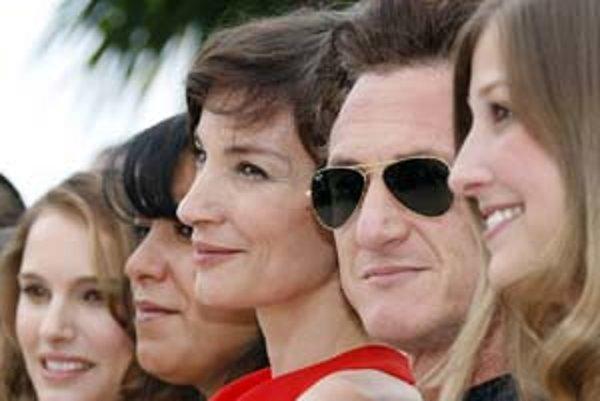 Sean Penn s časťou poroty festivalu v Cannes.