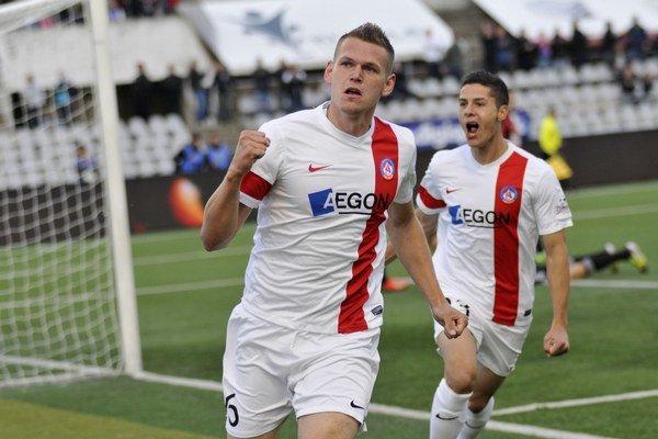 Trenčan Tomáš Malec to na Slovan vie.