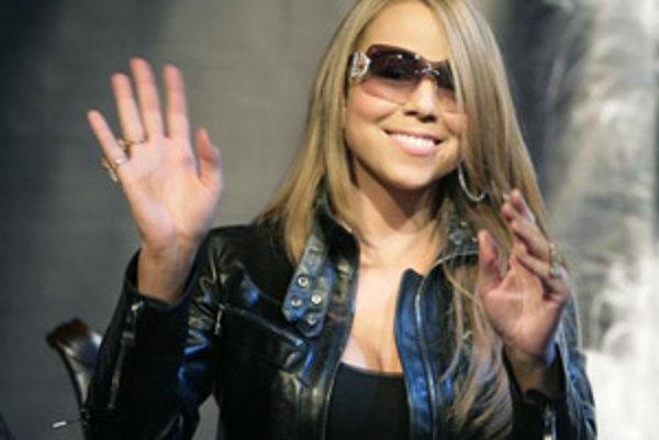 Americká speváčka Mariah Carey.