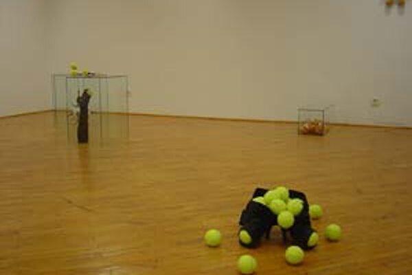 Z prvej výstavy v room 19_21 – Patrik Illo.