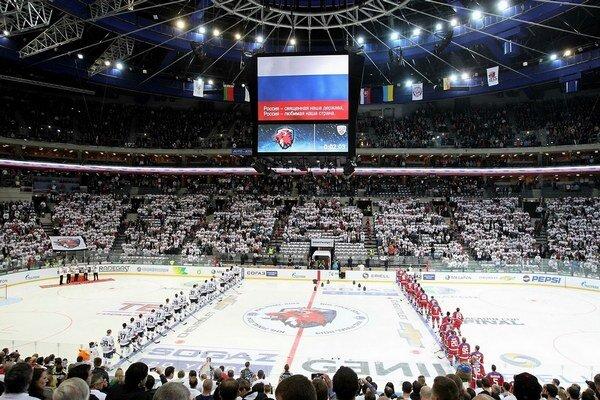 V O2 aréne padol divácky rekord KHL.