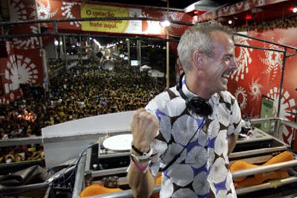 Britský DJ Fatboy Slim.