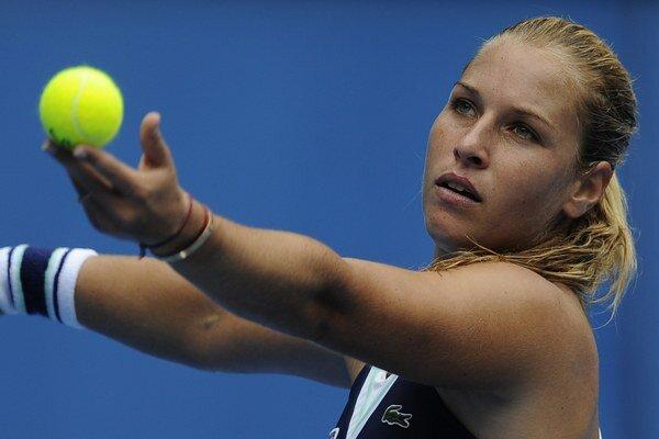 Slovenka Dominika Cibulková vyhrala v turnaji v Mexiku aj druhý zápas.