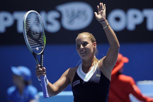 Slovenke Dominike Cibulkovej sa na turnaji v Mexiku darí.