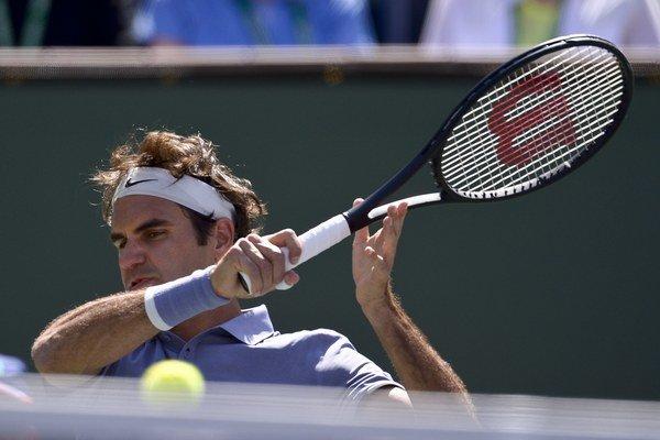 Švajčiar Roger Federer si zahrá v Indian Wells finále.