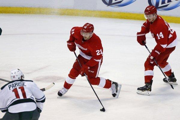Tomáš Tatar výrazne Detroitu pomohol k remíze.