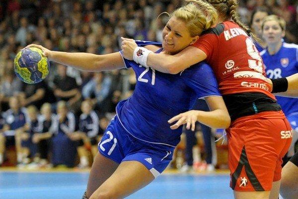 Simona Szarková patrí medzi opory slovenskej reprezentácie.