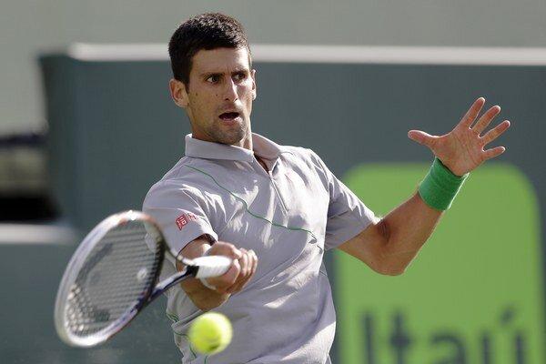 Novak Djokovič v Miami postúpil do semifinále.