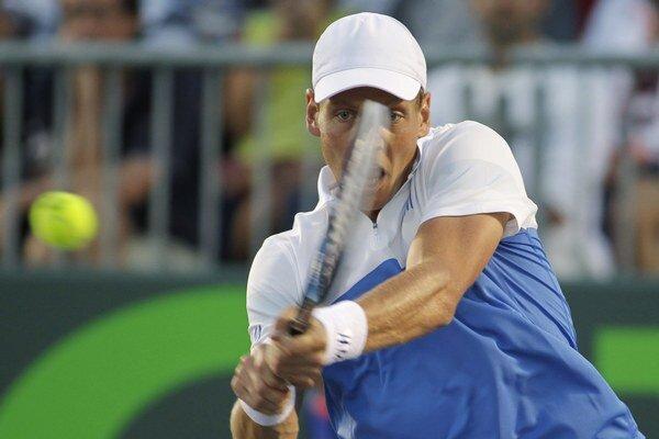Tomáš Berdych si v Miami pripísal 450. výhru na okruhu ATP.