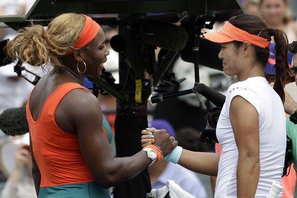 Serena a Li Na.