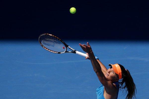 Daniela Hantuchová v treťom kole Australian Open prehrala so Serenou Serena Williamsovou 6:3, 6:3.