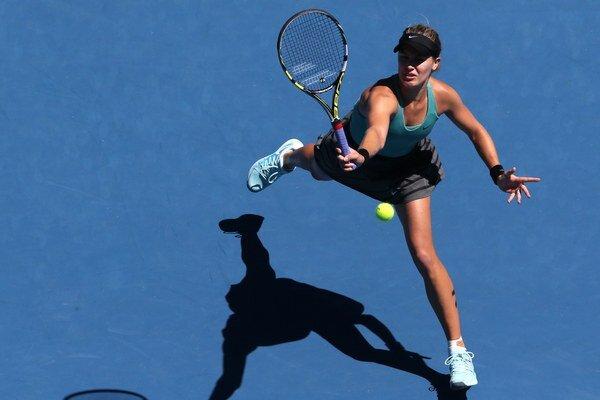 Kanaďanka Eugenie Bouchardová si zahrá na Australian Open semifinále.