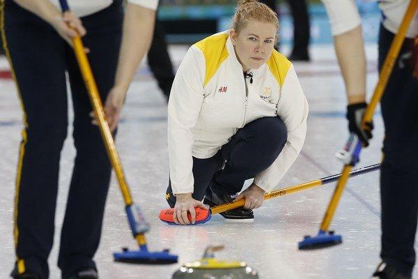 Švédka Margaretha Sigfridsson.