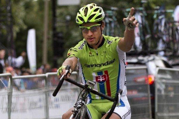 Peter Sagan je hviezdou svetovej cyklistiky.