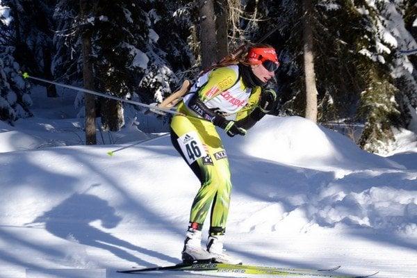 Najlepšia Slovenka v hodnotení IBU Cupu je Ivona Fialková na 35. mieste.