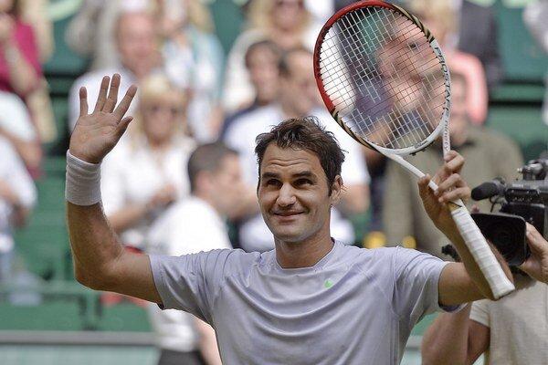 Roger Federer sa ešte nechce lúčiť.