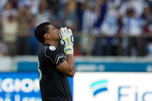 Honduraský brankár Noel Valladares.