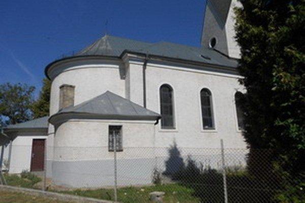 Evanjelický kostol v Sasinkove.
