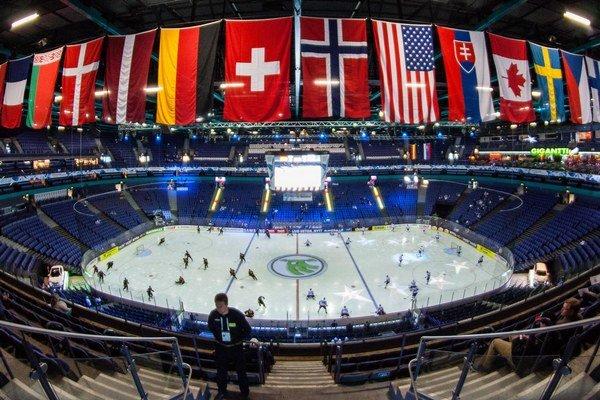 Ilustračná snímka z majstrovstiev sveta v hokeji 2013 vo Fínsku a Švédsku.