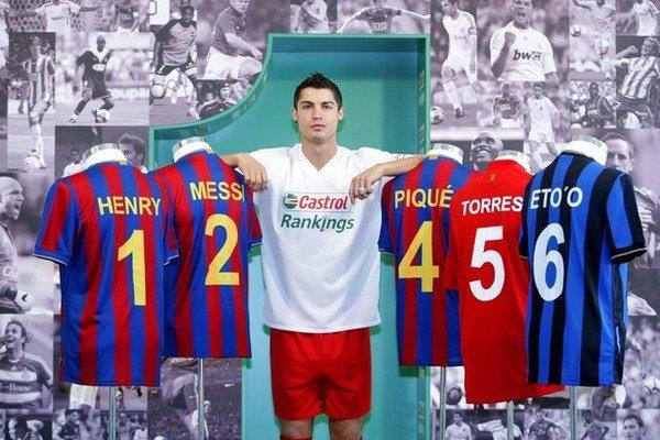 Cristiano Ronaldo. Ilustračná snímka.