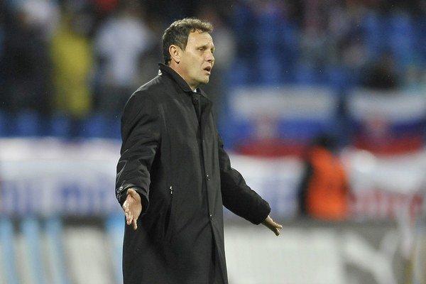 Tréner futbalovej reprezentácie Stanislav Griga.