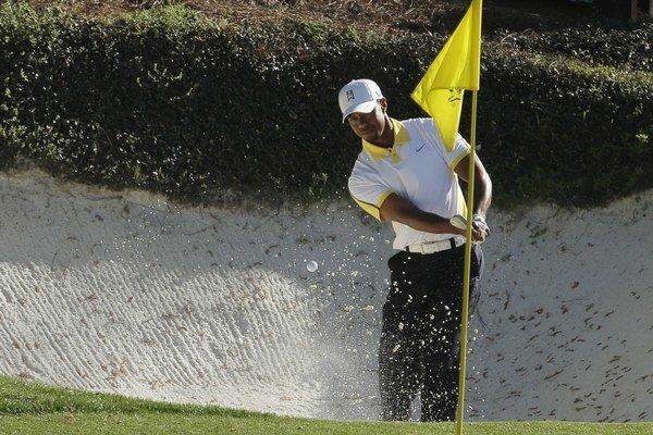 Favoritom pretekov je Tiger Woods.