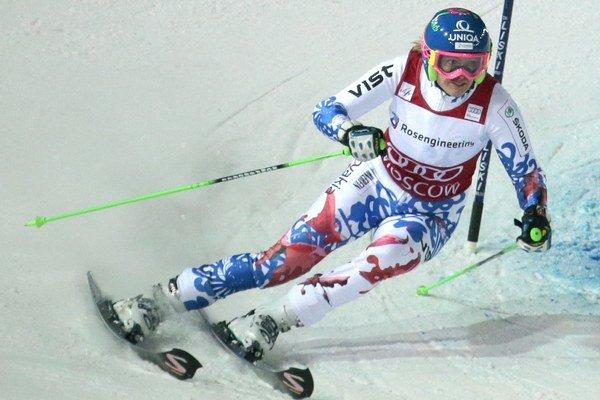 Slovenská slalomárska jednotka a svetová trojka Veronika Velez-Zuzulová.