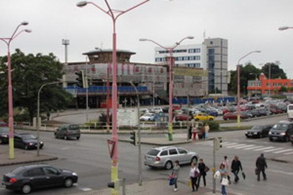 Vlaková stanica v Trnave.