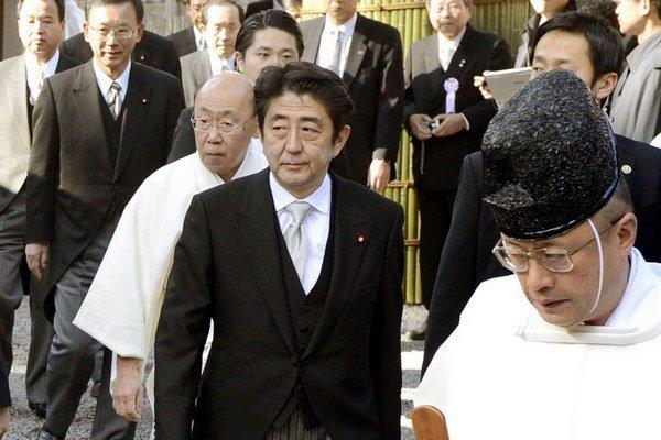 Šinzo Abe.