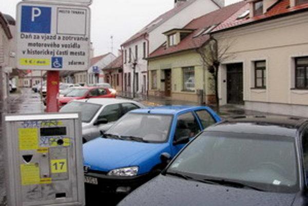 Pekárska ulica v Trnave.